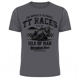 Isle of Man TT Charcoal T-Shirt